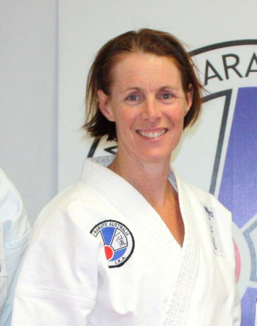 Sensei Alison Peachey 5th Dan