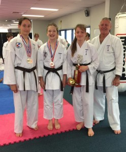 Junior girls open kumite