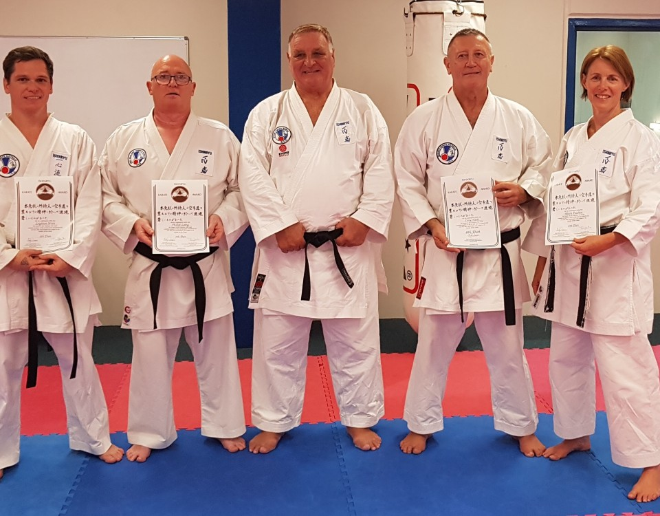 March 2019 dan gradings